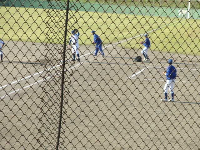2013.11.17 野球部オープン戦 航空vs津幡 004