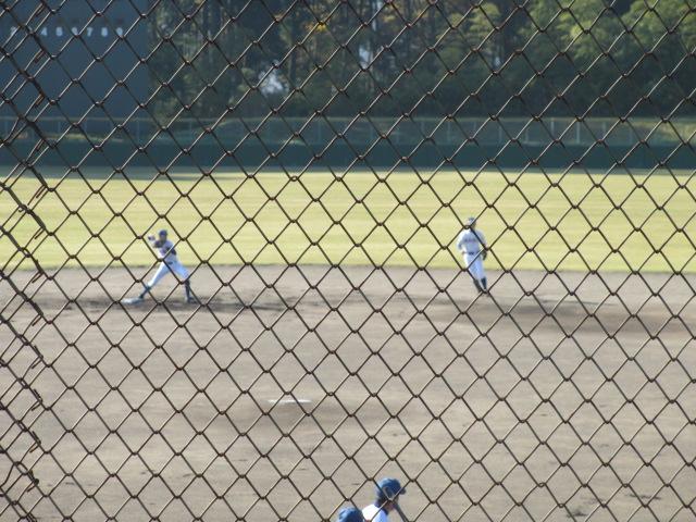 2013.11.17 野球部オープン戦 航空vs津幡 003