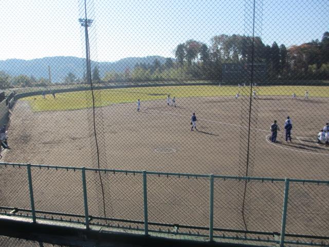 2013.11.17 野球部オープン戦 航空vs津幡 002