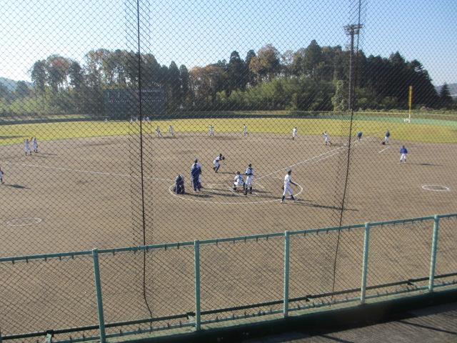 2013.11.17 野球部オープン戦 航空vs津幡 001