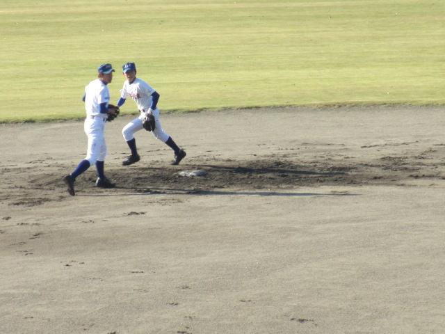 2013.11.17 野球部オープン戦 航空vs津幡 010