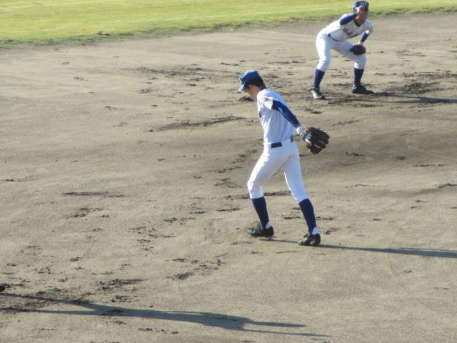 2013.11.17 野球部オープン戦 航空vs津幡 008