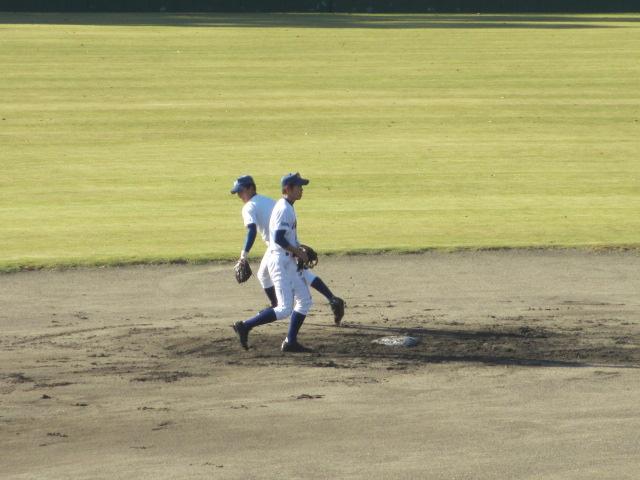 2013.11.17 野球部オープン戦 航空vs津幡 007