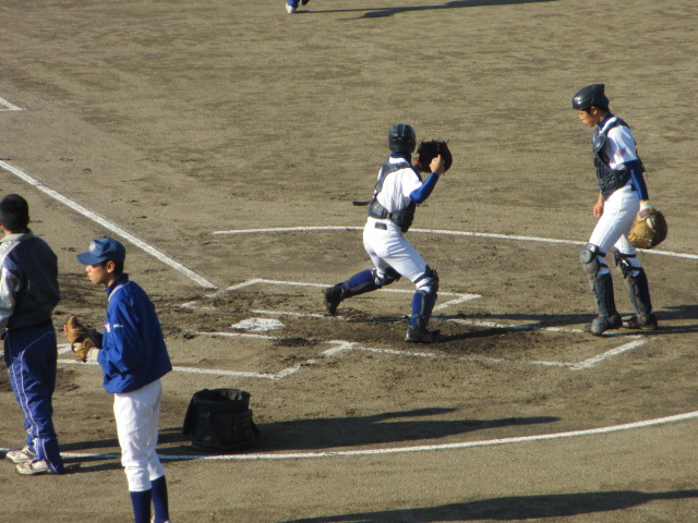 2013.11.17 野球部オープン戦 航空vs津幡 017