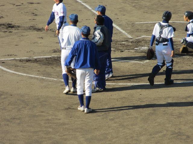 2013.11.17 野球部オープン戦 航空vs津幡 018
