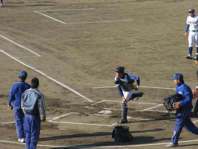 2013.11.17 野球部オープン戦 航空vs津幡 016