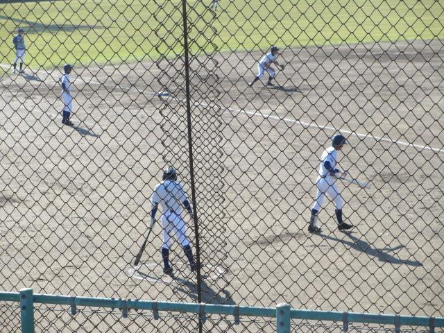 2013.11.17 野球部オープン戦 航空vs津幡 024