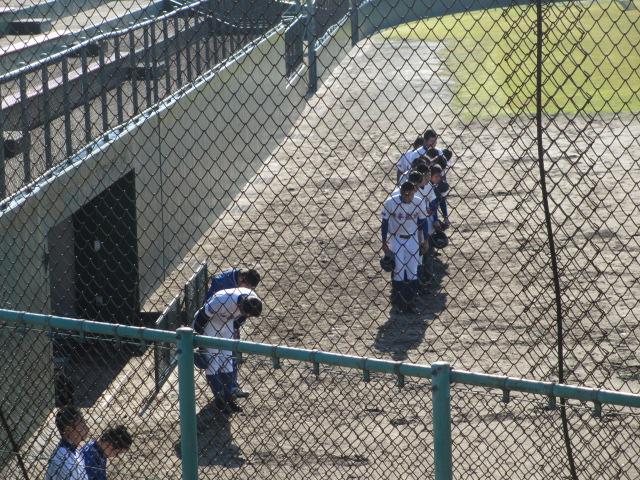2013.11.17 野球部オープン戦 航空vs津幡 023