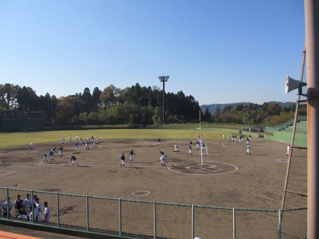2013.11.17 野球部オープン戦 航空vs津幡 020