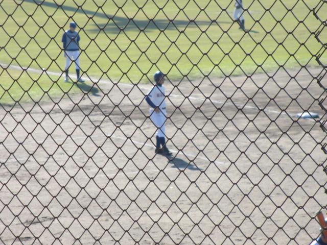 2013.11.17 野球部オープン戦 航空vs津幡 030
