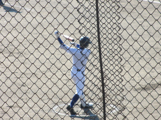 2013.11.17 野球部オープン戦 航空vs津幡 029