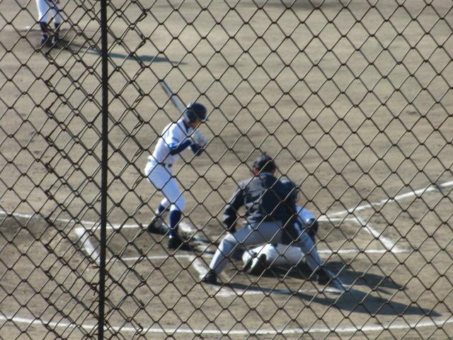2013.11.17 野球部オープン戦 航空vs津幡 026