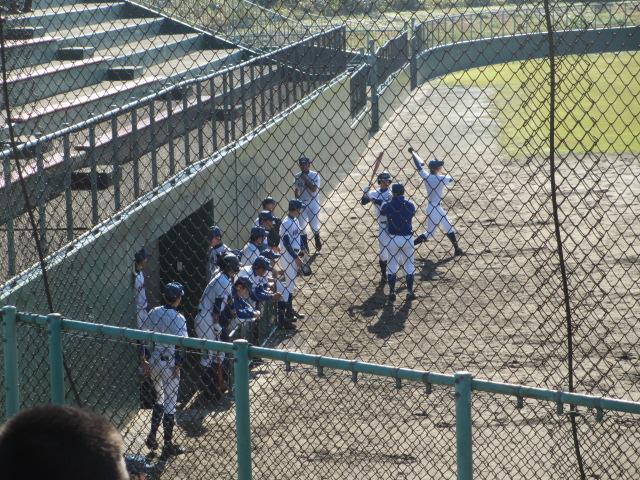 2013.11.17 野球部オープン戦 航空vs津幡 025