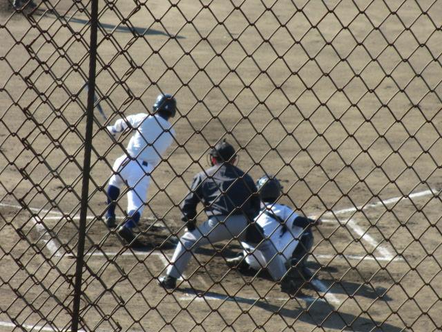 2013.11.17 野球部オープン戦 航空vs津幡 035