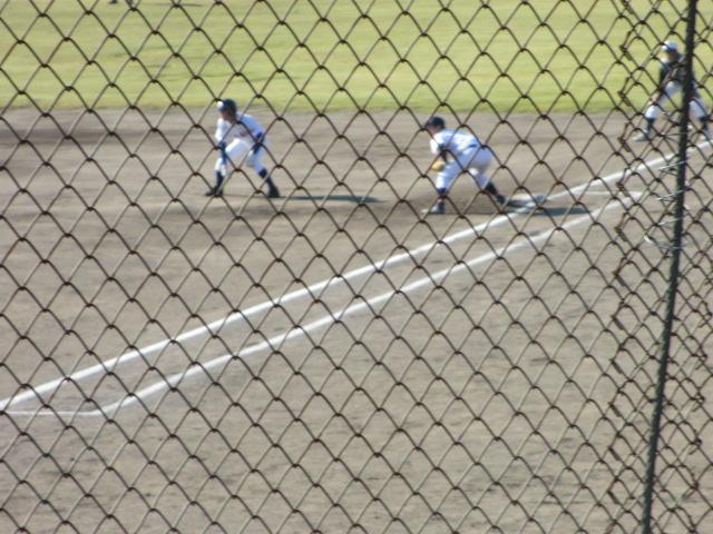 2013.11.17 野球部オープン戦 航空vs津幡 032