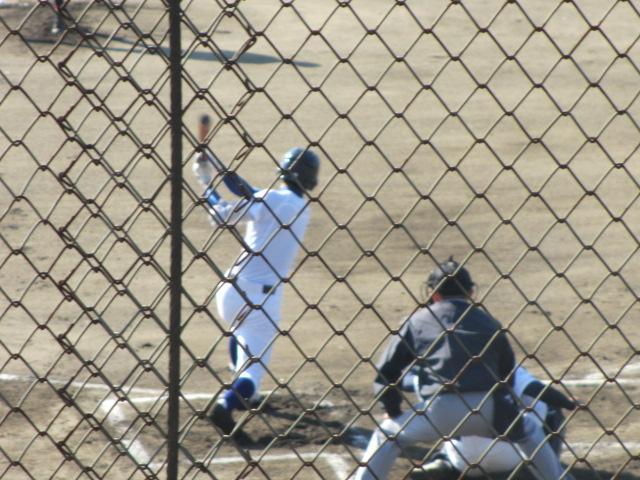 2013.11.17 野球部オープン戦 航空vs津幡 039