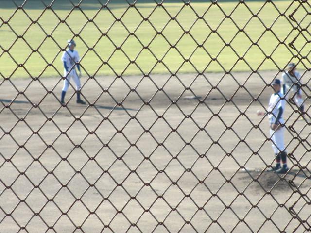 2013.11.17 野球部オープン戦 航空vs津幡 038