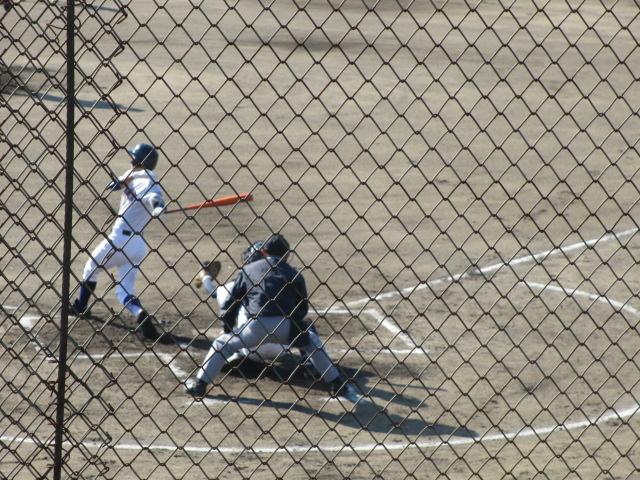 2013.11.17 野球部オープン戦 航空vs津幡 048