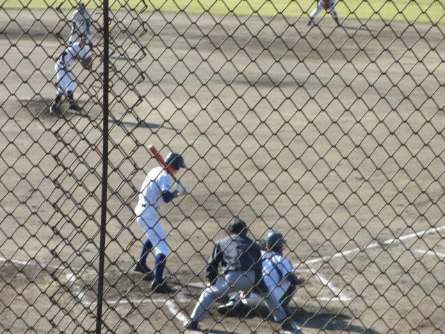 2013.11.17 野球部オープン戦 航空vs津幡 046