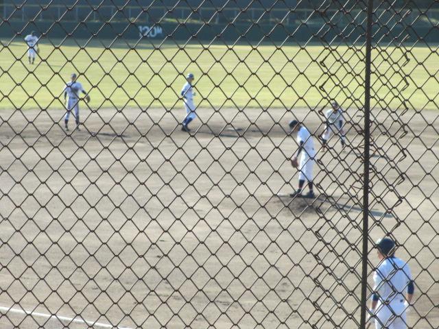 2013.11.17 野球部オープン戦 航空vs津幡 045