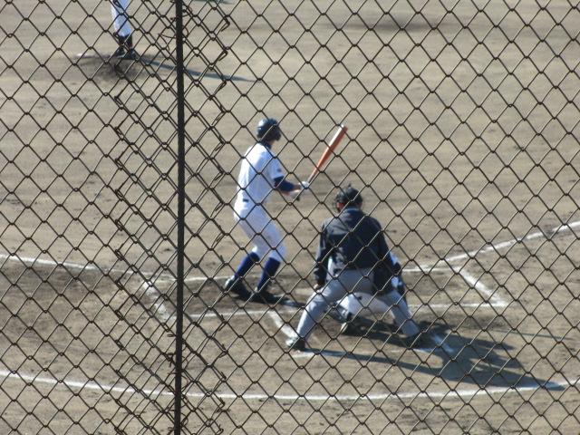 2013.11.17 野球部オープン戦 航空vs津幡 044
