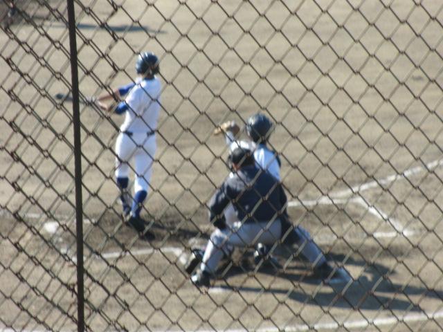 2013.11.17 野球部オープン戦 航空vs津幡 053