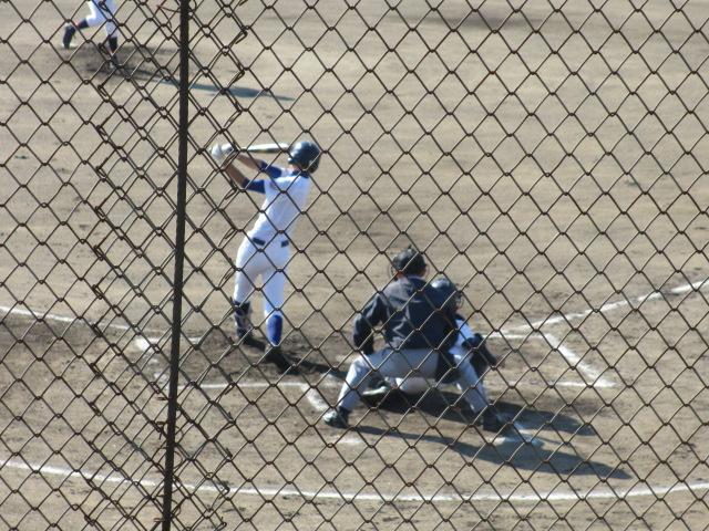 2013.11.17 野球部オープン戦 航空vs津幡 052