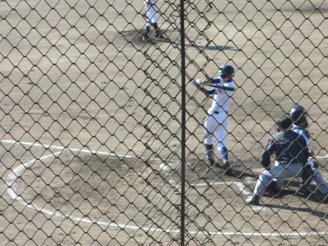 2013.11.17 野球部オープン戦 航空vs津幡 051