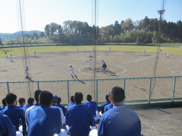 2013.11.17 野球部オープン戦 航空vs津幡 050