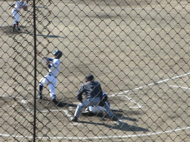 2013.11.17 野球部オープン戦 航空vs津幡 049