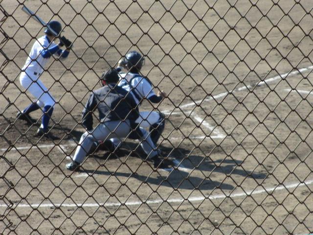 2013.11.17 野球部オープン戦 航空vs津幡 060