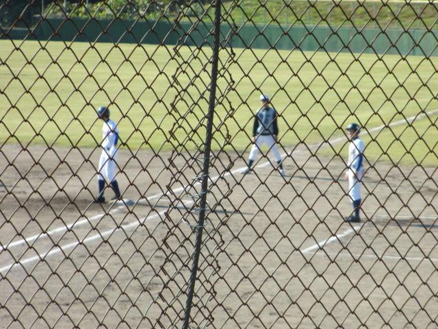 2013.11.17 野球部オープン戦 航空vs津幡 059