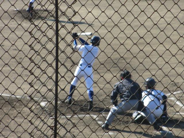 2013.11.17 野球部オープン戦 航空vs津幡 058