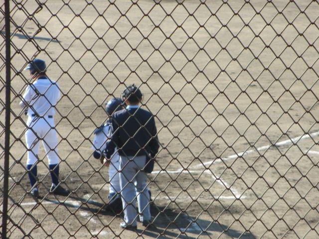 2013.11.17 野球部オープン戦 航空vs津幡 057