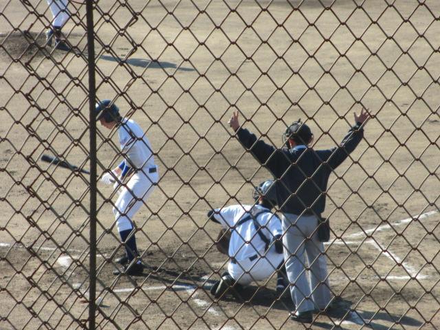 2013.11.17 野球部オープン戦 航空vs津幡 055