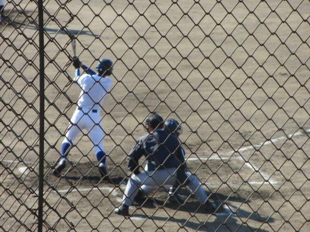 2013.11.17 野球部オープン戦 航空vs津幡 063