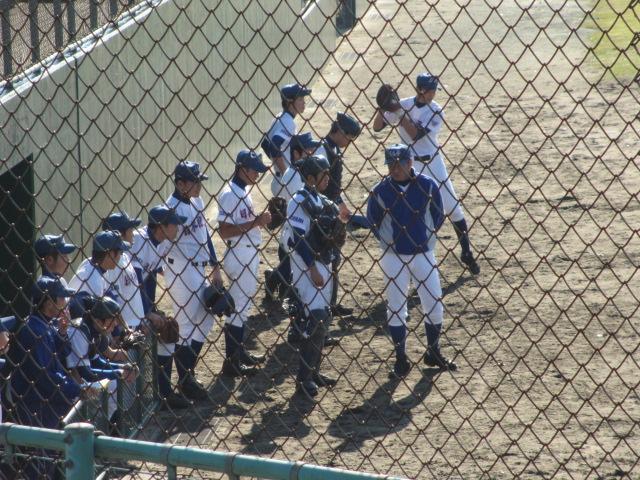 2013.11.17 野球部オープン戦 航空vs津幡 062