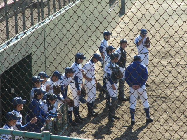 2013.11.17 野球部オープン戦 航空vs津幡 061