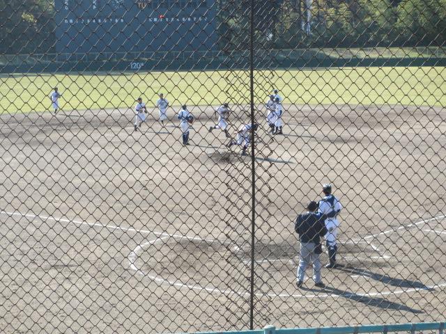 2013.11.17 野球部オープン戦 航空vs津幡 072