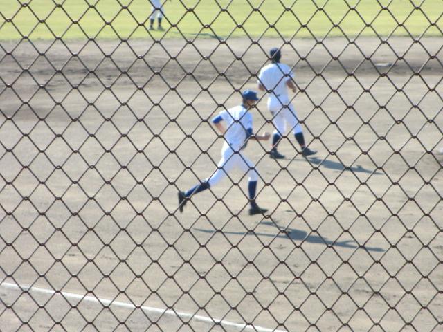 2013.11.17 野球部オープン戦 航空vs津幡 071