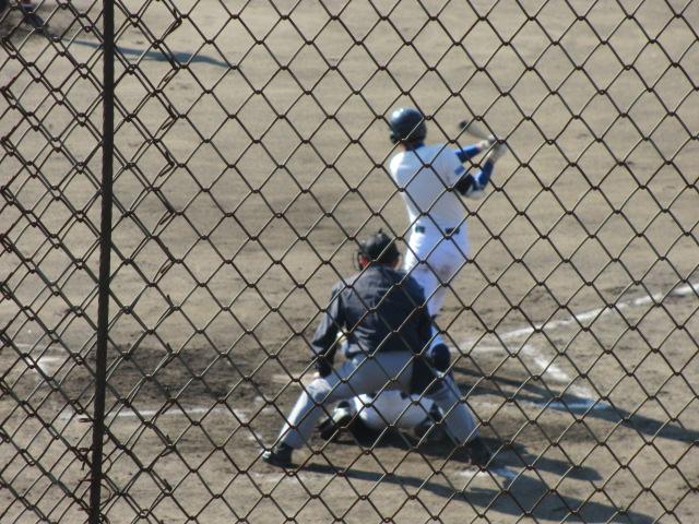 2013.11.17 野球部オープン戦 航空vs津幡 070
