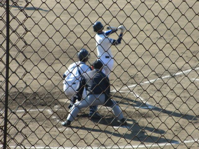 2013.11.17 野球部オープン戦 航空vs津幡 068