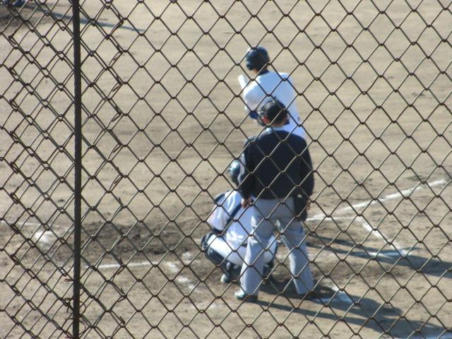 2013.11.17 野球部オープン戦 航空vs津幡 067
