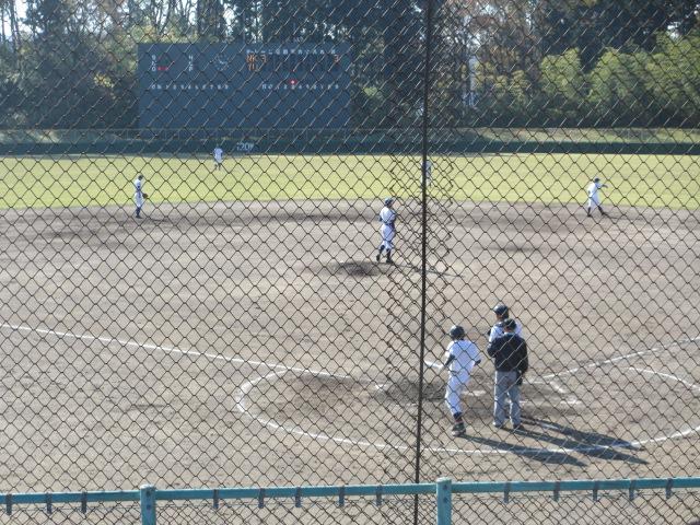 2013.11.17 野球部オープン戦 航空vs津幡 081