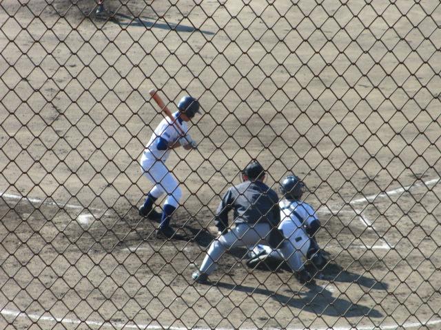 2013.11.17 野球部オープン戦 航空vs津幡 090