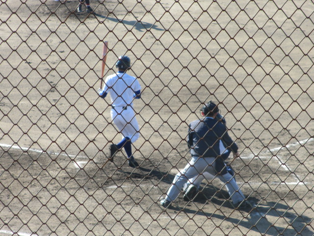 2013.11.17 野球部オープン戦 航空vs津幡 089
