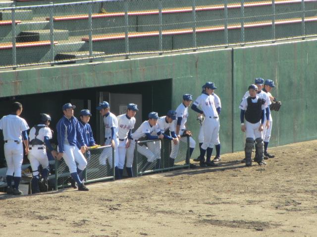 2013.11.17 野球部オープン戦 航空vs津幡 096