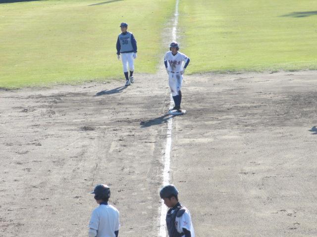 2013.11.17 野球部オープン戦 航空vs津幡 095
