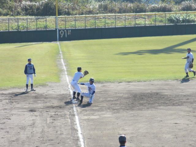 2013.11.17 野球部オープン戦 航空vs津幡 094