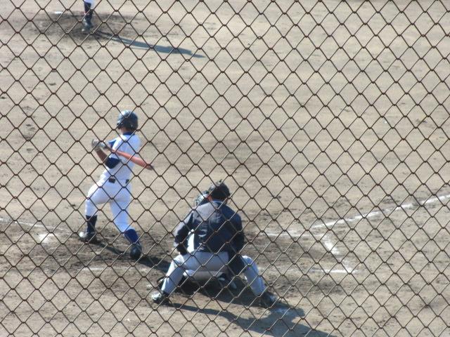 2013.11.17 野球部オープン戦 航空vs津幡 092